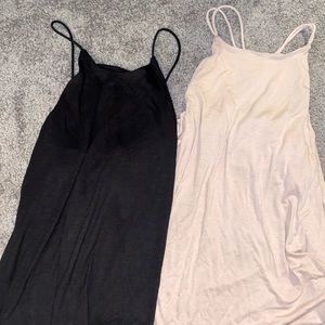 2 H&M racer back tanks